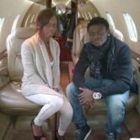 Obafemi Martins and Balotelli's sister  Abigail welcome son