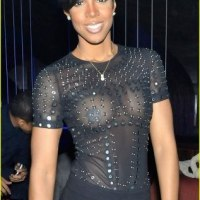 PHOTOS: SEE How Kelly Rowland Willingly Showed The Whole World Her Nipples & Boobs (LOOK)