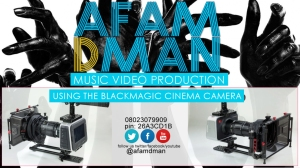 shoot your music video with afamdman, we give you the best job at an affordable price