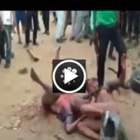 [VIDEO]: Two Guys Brutally Beaten To Death While Police Watches