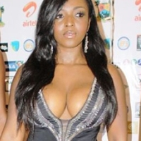 'I GOT MY BIG B**BS FROM MY MUM' – YVONNE OKORO, SEE PHOTO OF HER MUM'S GIGANTIC WATER MELON
