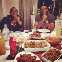 TOO MUCH MONEY! Samuel Eto Dines with Davido And Buys him A Gold Rolex Worth Millions