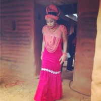 Photos OF Rita Dominic In Full Bini Attire (Must See)